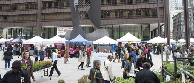 DALEY PLAZA FARMERS MARKET