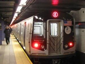subway in big city