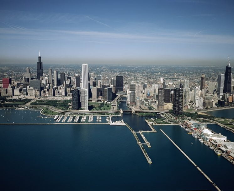 Chicago Skyline and Lakefront