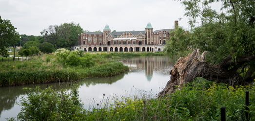 Humboldt Park's historic fieldhouse/picture from City of Chicago