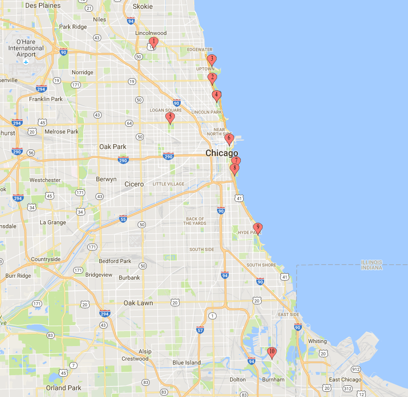 Top Birding Locations in Chicago