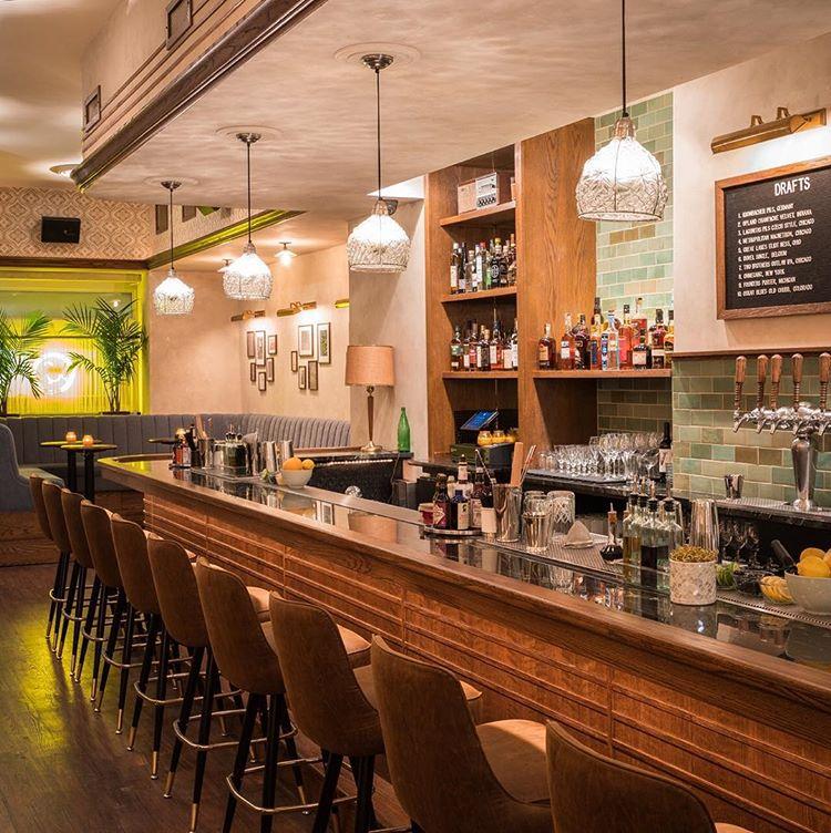 Sparrow Lounge in Gold Coast Neighborhood Chicago