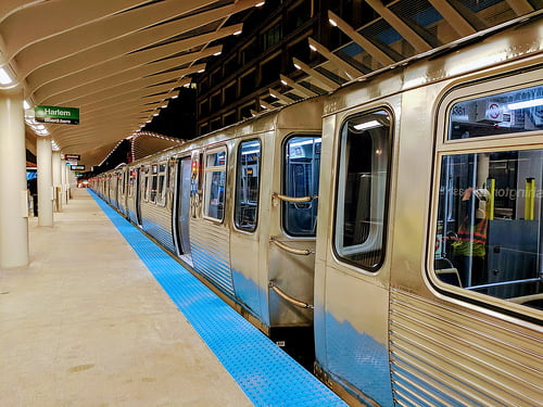 Chicago transportation on the L