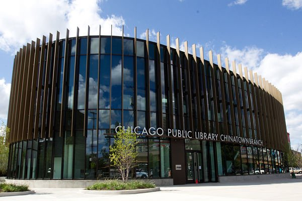 Chicago Public Library Chinatown